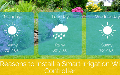 5 Reasons to Install a Smart Irrigation WiFi Controller